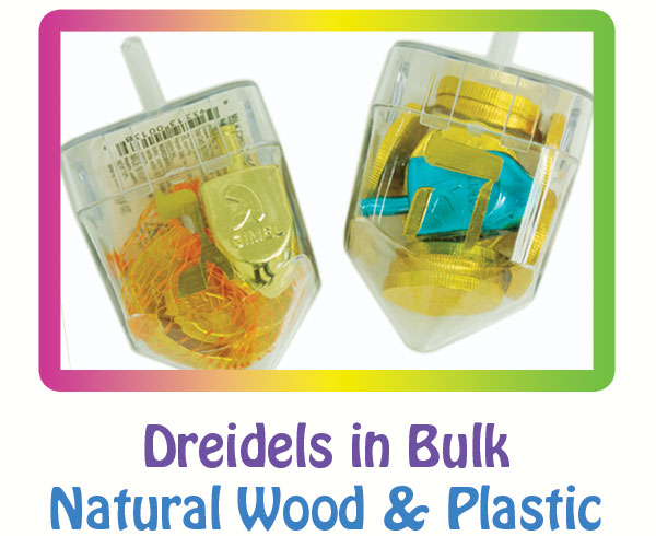 Dreidels for Hanukkah