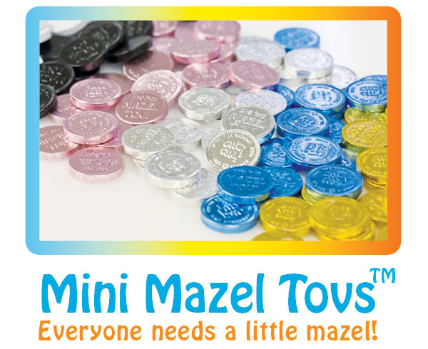Mini Mazel Tovs Kosher Chocolate Coins